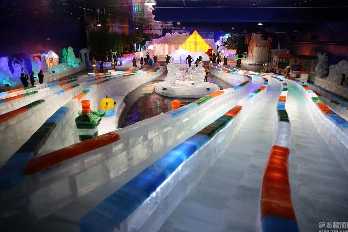 <b>横店圆明新园冰雕项目-透明冰雕制冰机</b>