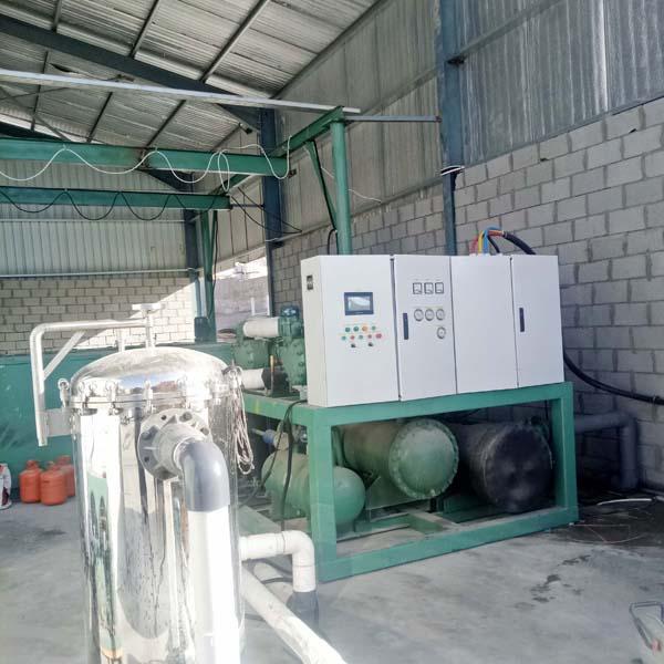 <b>深圳开普拓盐水式块冰机在约旦工程方案</b>